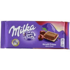 Молочный шоколад Milka Cherry 100 г.