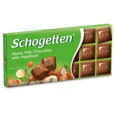 Шоколад Schogetten with hazelnuts (Шогеттен с лесным орехом)