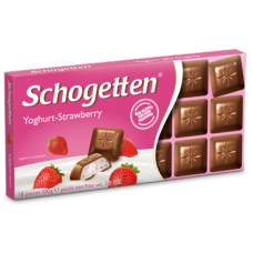 Шоколад Schogetten Yoghurt-Strawberry  (Шогеттен Клубничный йогурт)