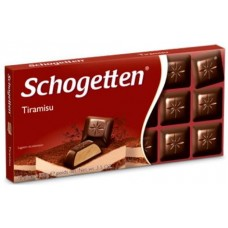 Шоколад Schogetten Tiramisu (Шогеттен Тирамису)