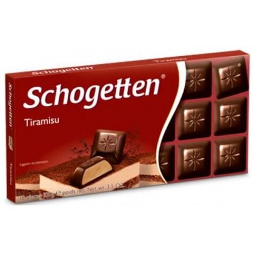Шоколад Schogetten Tiramisu (Шогеттон Тирамису)