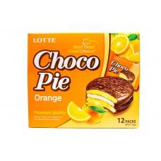 Печенье Choco Pie Orange ( Чокопай апельсин )