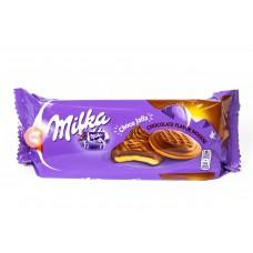 Печенье Милка с шоколадным муссом ( Milka Jaffa Delicje Chocolate Mousse Cookies )