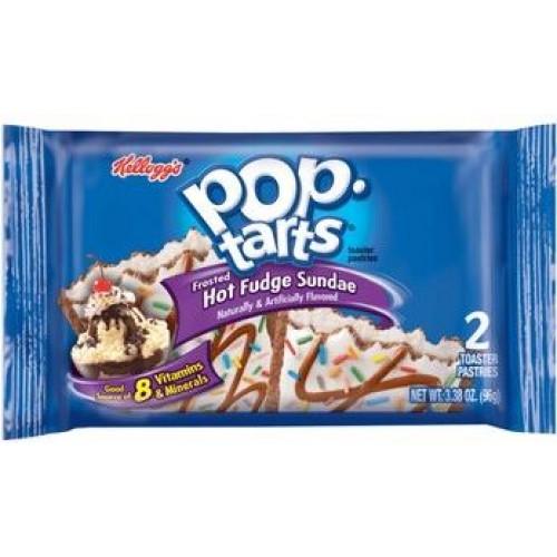 Pop Tarts Frosted Hot Fudge Sundae (Горячее мороженое с глазурью)
