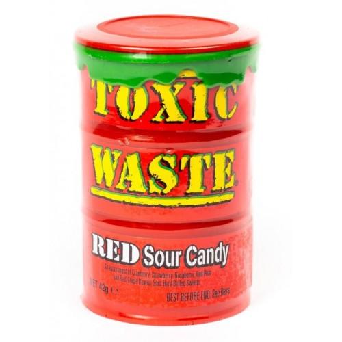 Конфеты Toxic Waste Red (Супер кислые леденцы Токсик Вейст)