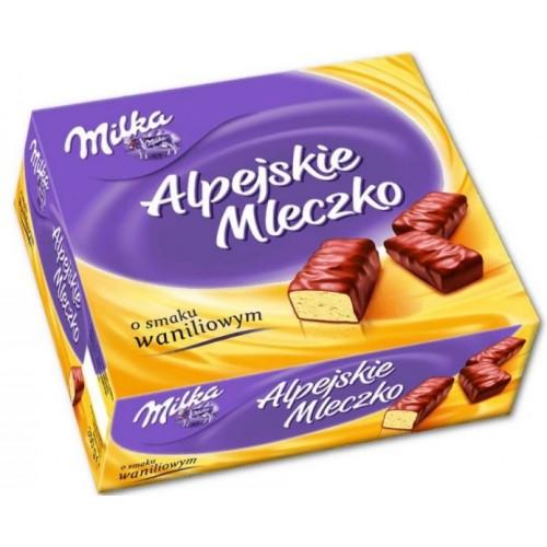 Шоколадные конфеты Milka Альпийское Молоко с ванилью