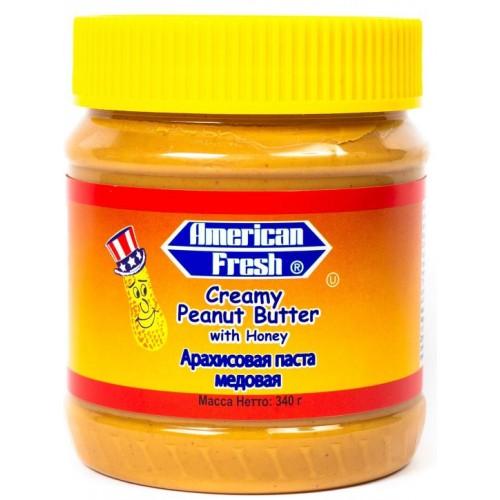 American Fresh with Honey (Арахисовая паста с медом)