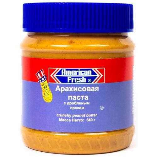 American Fresh Crunchy (Арахисовая паста с дробленым орехом)