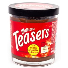 Maltesers with malty crunchy pieces (Шоколадная паста Тизерс с хрустящими хлопьями)