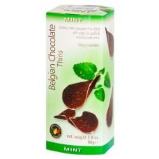 Бельгийские шоколадные чипсы Мята