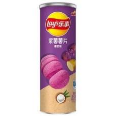 Чипсы Lays Violet Potato Coconut