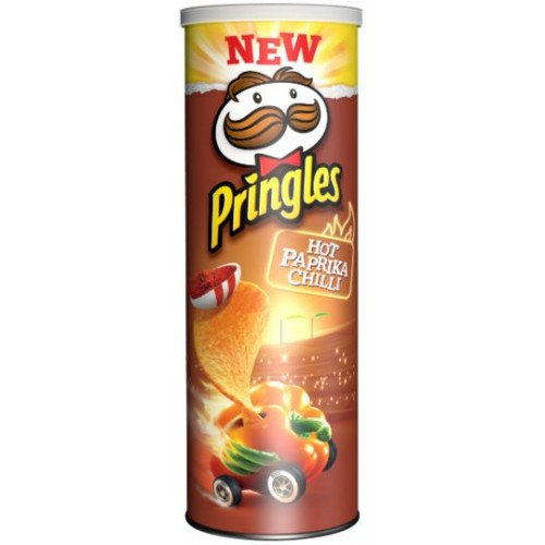 Pringles Hot Paprika Chilli