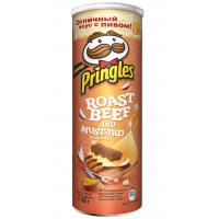 Pringles Ростбиф с горчицей Картофельные чипсы 165гр