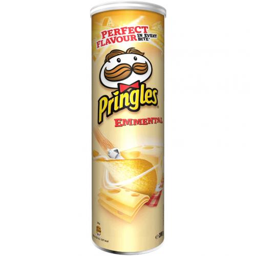 Pringles Сыр Эмменталь 165гр