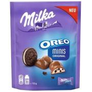 Шоколад Милка Минис Оригинал с кусочками Орео
