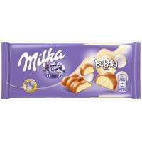 Молочный шоколад Milka Bubbly White 95 г.