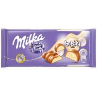 Молочный шоколад Milka Bubbly White 95 г.