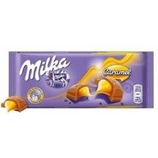Молочный шоколад Milka Caramel 100 г.