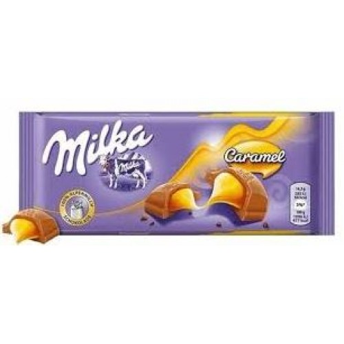 Шоколад Milka Caramel 100гр
