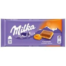 Молочный шоколад Milka Caramel Cream 100 г.