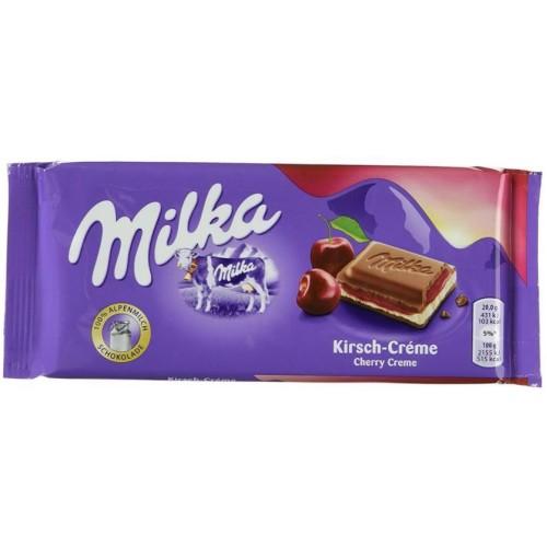 Milka Cherry, 100 g.
