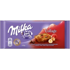 Молочный шоколад Milka Collage Fruit 100 г.