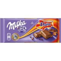 Молочный шоколад Milka Daim 100 г.