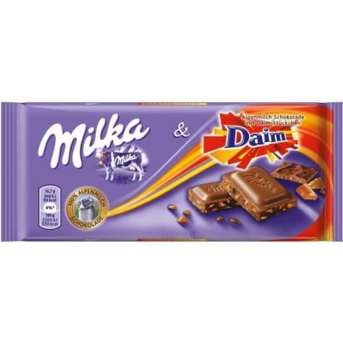 Шоколад Milka Daim 100гр