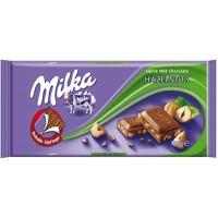 Milka Hazelnuts, 100 g.