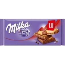 Молочный шоколад Milka LU 100 г.