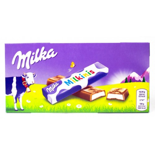 Milka Milkinis, 87,5 g.