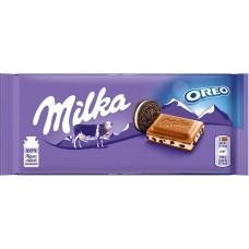 Milka With Oreo Cookies, 100 g.