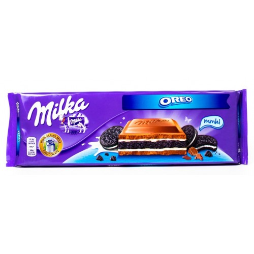 Milka With Oreo Cookies, 300 g.