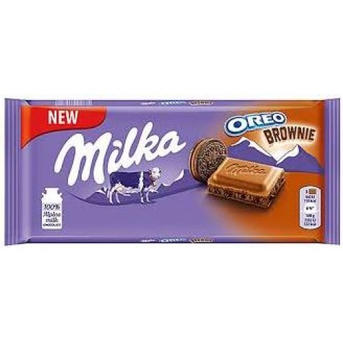 Milka Oreo Brownie, 100 g.