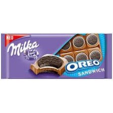 Молочный шоколад Milka Oreo Sandwich 100 г.