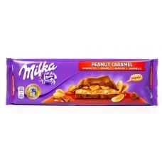Шоколад Milka Peanut Caramel (Милка Арахис Карамель) 300 г.