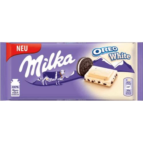 Milka Oreo White, 100 g.