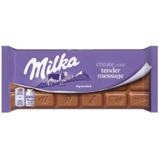 Milka Tender Message, 100 g.