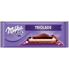 Шоколад Milka Triolade 280 г.