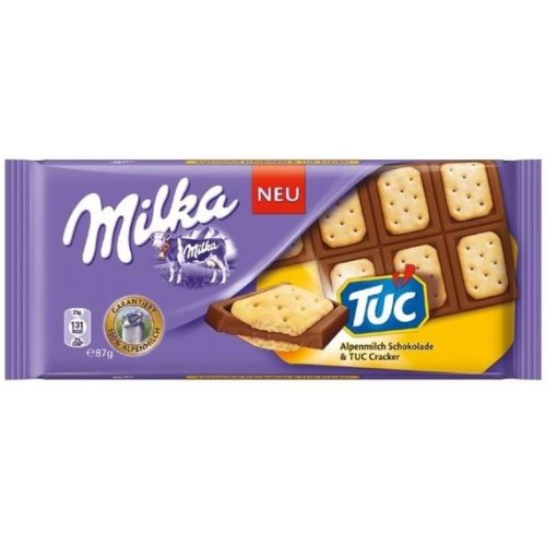 Шоколад Milka TUC 100гр