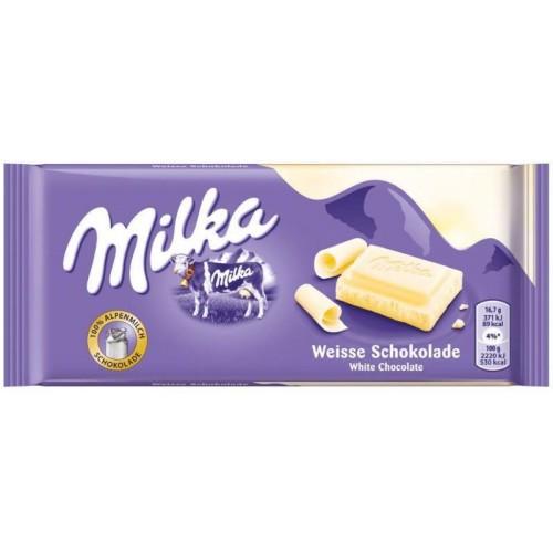 Milka White, 100 g.