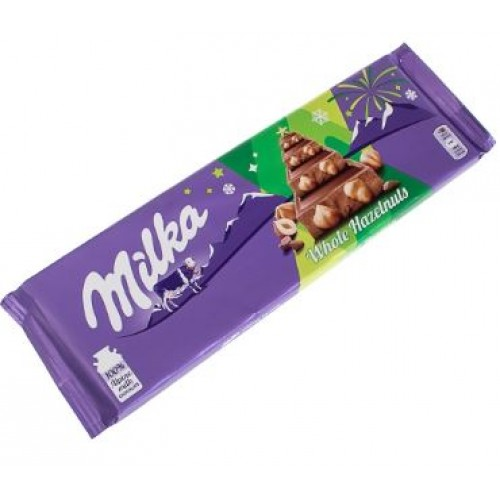 Milka Whole Nuts, 270 g.