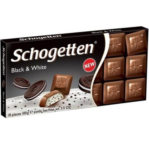 Шоколад Schogetten Black and White 100 g.