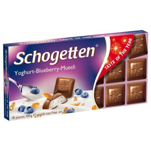 Шоколад Schogetten Schogetten Yoghurt Blueberry Muesli (Шогеттен орео) 100г