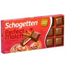 Шоколад Schogetten Cinnamon Cream Chocolate 100g
