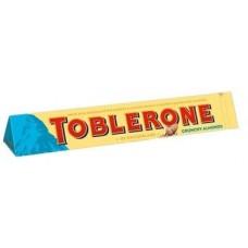 Молочный шоколад Toblerone Crunchy Almonds  100 гр