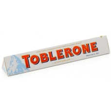 Молочный шоколад Toblerone White 100 гр