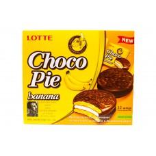 Печенье Choco Pie Banana ( Чокопай банан )
