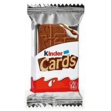 Печенье Kinder Cards 25.6 g