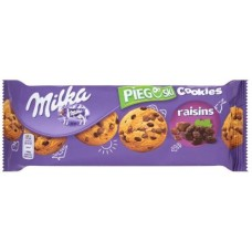 Печенье Milka Pieguski Choco Cookies Raisins